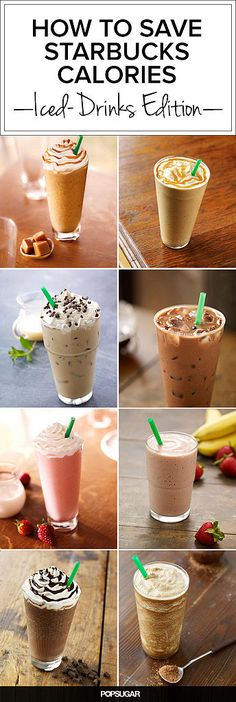 Watching calories but must have Starbucks? What to Skip, What to Sip: Starbucks's Creamy, Icy Drinks