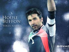 The irreplaceable goalkeeper of Juventus Gianluigi Buffon