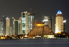 Qatar skyline.. Wonderful!