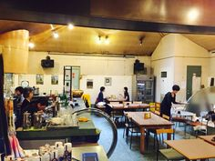 Renovated cafe from Onsen.