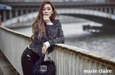 Jessica Jung for Marie Claire magazine