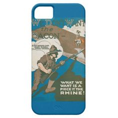 We Don't Want the Bacon iPhone 5 Cover