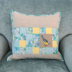 Sew Sweet Violet: Mother's Day Cushion :: Number Two .....