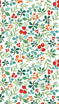 ideas for wallpaper phone watercolor art print patterns Deco Floral, Motif Floral, Floral Design, Cool Wallpapers For Phones, Phone Wallpapers, Wallpaper Desktop, Surface Pattern Design, Pattern Art, Pattern Drawing