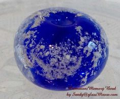 Round Bead [bead-cremation-round] - $20.00 : Glass Moose Cart, handcrafted glass, beads/supplies, jewelry, wood & metal art, signs