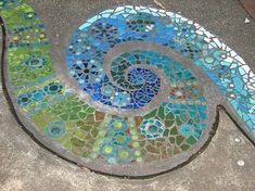 Fern mosaic by rachelpp