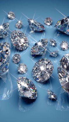 Diamond Wallpaper, Bling Wallpaper, Wallpaper Backgrounds, Iphone Wallpaper, Walpapers Iphone, Diamond Background, Live Wallpapers, Crystals And Gemstones, Diamond Earrings