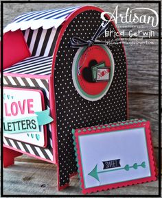 Love Letters Mailbox- Made with MDS and an E-Cutter. Four Video tutorials included! http://pinkbuckaroodesigns.blogspot.com/2014/02/aww-feb-1.html