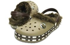 Chewbacca Fur Crocs  Yes, They Exist