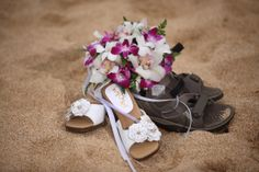 Flowers in the sand...