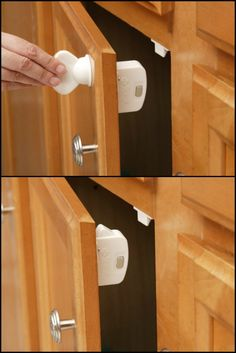 Want to make a secret storage for your valuables? Secure your hidden compartments with this magnetic locking system!  http://theownerbuildernetwork.co/qk15  Simply install the lock inside your hidden compartment, and use the powerful magnetic key to open when needed. Keep the key with you or store it high up and out of reach from curious children.  Now you have storage completely secure and invisible to other people!
