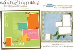 Easy-As-Pie Template Challenge {FIVE}
