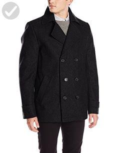 Calvin Klein Men's Peacoat, Black, Medium - Mens world (*Amazon Partner-Link)