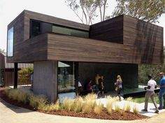 Oak Pass Guest House on Dwell Home Tours | Dwell on Design 2013 via http://duuplex.com