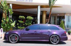 Audi RS6-Violet-Cannes