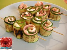 Spiedini | Spiedini di Zucchine - ricetta - Aryblue