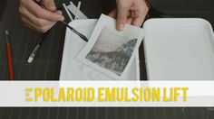How To Do a Polaroid Emulsion Lift    Thanks to The Impossible Projectand instant photography we can try this method again. Emulsion lift  is a classic creative technique. Polaroid film allows to transfer your photos onto paper or other materials. With instant film and using this process you can stretches the images and create a larger print that the original.  Photographer Matt Day took one of these Polaroids cut it up and in this video he teaches you how to do a Polaroid emulsion transfer…