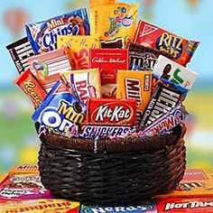 Gift baskets for christmas sees candy
