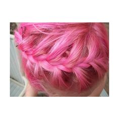 Tumblr ❤ liked on Polyvore featuring hair, pictures, girls, pic and pink