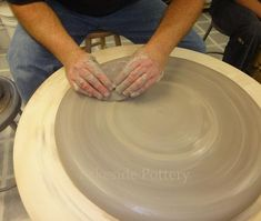 Throwing a Large Platter or Bowl | Simplified Way to Throw Very Large Pots