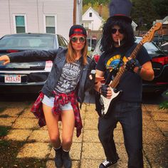 Guns N' Roses - Axl Rose and Slash - Halloween
