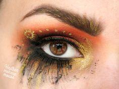 Steampunk Grunge  #steampunkmakeup #makeup