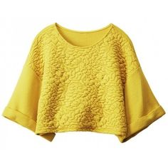 Cop top giallo ❤ liked on Polyvore featuring tops, shirts, crop top, long sleeves, long sleeve crop top, giallo, cropped long sleeve shirt, long sleeve tops and yellow long sleeve top