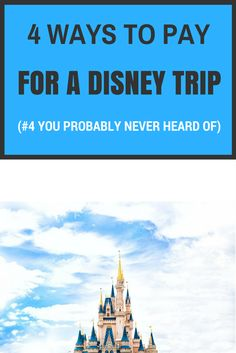 How to save for your Disney Vacation!