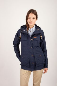 5d05b9e6a71 Vassan parka for the rainy Portland winter Navy Parka