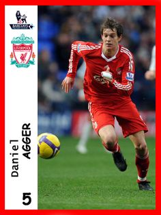 Daniel Agger, played for Liverpool in season 2010-11