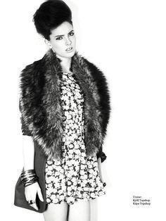 Photographer: Kari Sverriss  Makeup: Sigga Lena  Hair: Katrin Sif  Model: Unnur