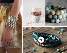 Diy beaded bracelet diy jewelry making ideas and do it yourself easy crafts to make and sell for a crafty entrepreneur diy solutioingenieria Images