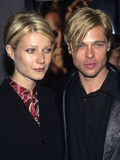 Everyone got highlights in the '90s, and they wanted to make sure you knew it. Lightened sections were big, bright, and super-obvious. Gwyneth Paltrow and Brad Pitt were unforgettable in their his-and-hers zebra stripes.