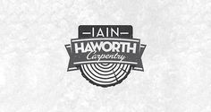 Iain Haworth Carpentry | Logo Design | The Design Inspiration