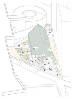 """Andrea Trucillo, Michele Alberti, BLULAB_building landscape urbanism — Ludoteca """"Padiglione Infanzia"""""""