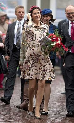 crown princess mary of denmark pregnant - Google Search