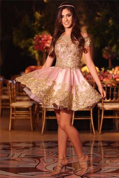 ccb1829b554 Only  139--Lace Appliques Short Homecoming Dress