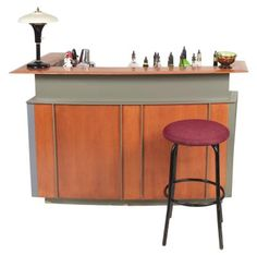 How To Make A Bar At Home Using Cabinets