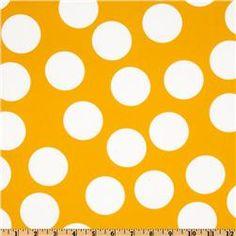 Mustard yellow fabric