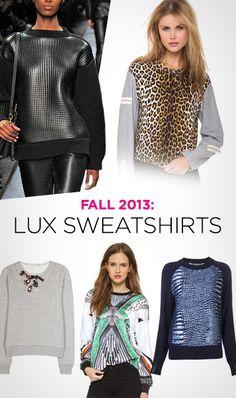 Fall 2013: LUX Sweatshirts