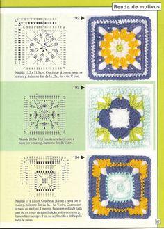 Gallery.ru / Фото #86 - Pontos de croche 205 идей - accessories