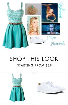 Sirena Mako Mermaids By Jonas Bros02 On Polyvore Featuring Converse