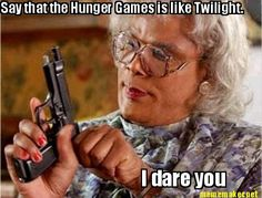 Say that any other dystopian novel is like The Hunger Games... I dare you.