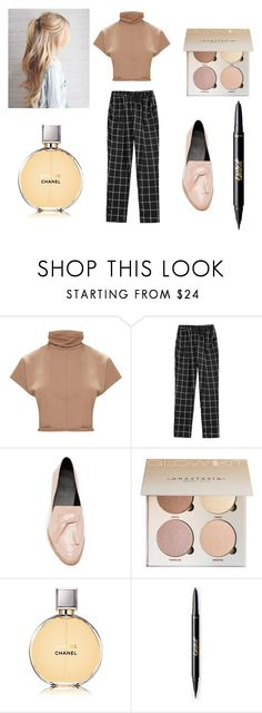 """Office look"" by miloni-jhaveri ❤ liked on Polyvore featuring Rebecca Minkoff and Chanel"