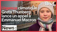 Le message de Greta Thunberg à Emmanuel Macron - YouTube