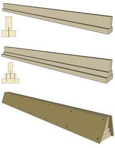 Grind Rail Assembly - How to make a skateboard grind rail
