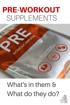 Pre-workout supplements - what's in them and what do they do?  @dailyburn #fueltoday #fitfluential