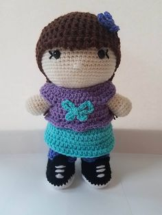 This pattern is for my new Emily Doll! Her Everyday Accessories including the wig cap are coming soon!
