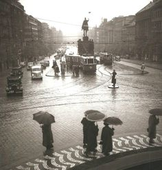 1939 - view down the St. Wenceslas Square
