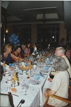 VWSGB members at a Study Week dinner in London